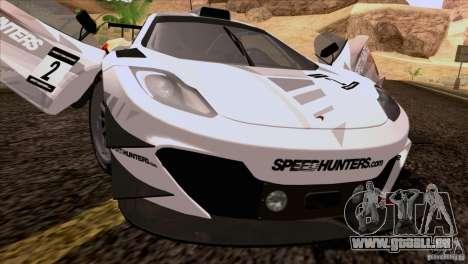 McLaren MP4-12C Speedhunters Edition für GTA San Andreas