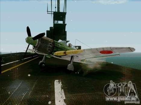 Avions japonais pour GTA San Andreas