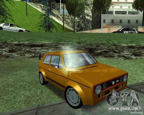 Volkswagen Golf MK 1 GTI für GTA San Andreas rechten Ansicht
