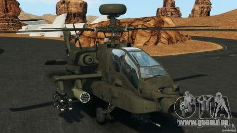 Boeing AH-64 Longbow Apache v1.1 pour GTA 4