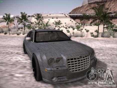 Chrysler 300C SRT8 pour GTA San Andreas vue de dessous