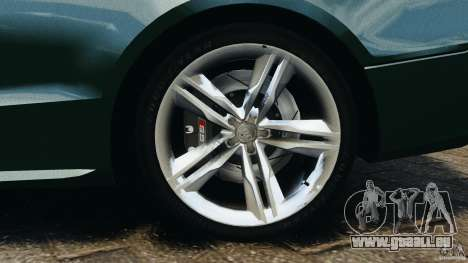 Audi S5 pour GTA 4 est une vue de dessous