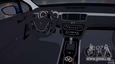 Peugeot 508 Final pour GTA 4 est un côté