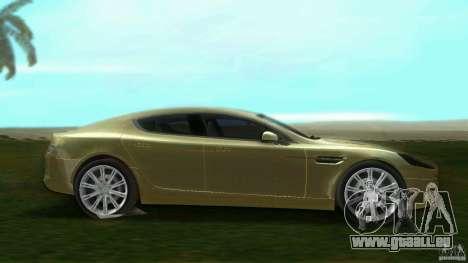 Aston Martin Rapide pour une vue GTA Vice City de la gauche