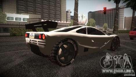 McLaren F1 LM pour GTA San Andreas vue de droite