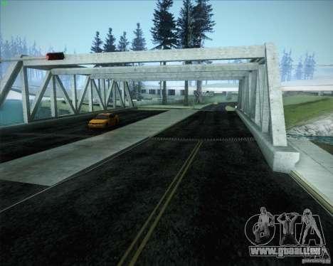 Nouvelles routes autour de San Andreas pour GTA San Andreas