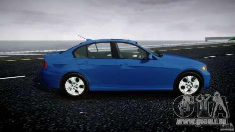 BMW 3-Series Unmarked [ELS] für GTA 4 Rückansicht