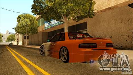 Nissan Silvia S13 MyGame Drift Team für GTA San Andreas Rückansicht