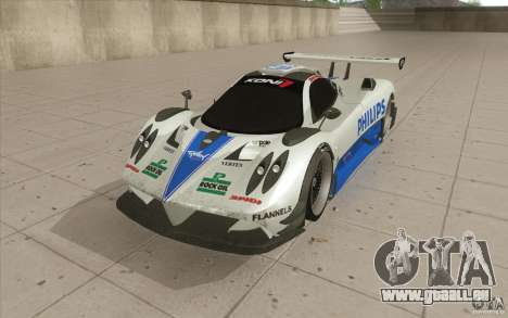 Pagani Zonda Racing Edit pour GTA San Andreas