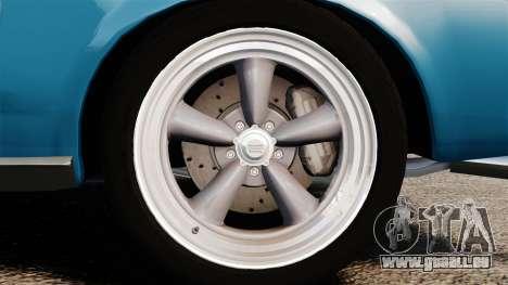 Ford Mustang Customs 1967 pour GTA 4 Vue arrière