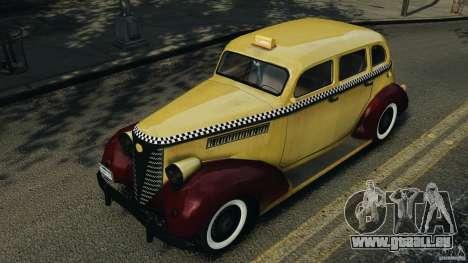 Shubert Taxi für GTA 4 Innenansicht