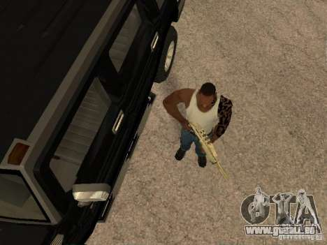 Alarmanlage für Autos für GTA San Andreas zweiten Screenshot