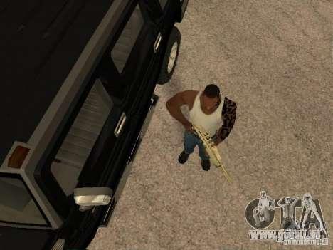 Système d'alarme pour les voitures pour GTA San Andreas deuxième écran