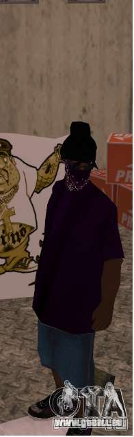 West coast ballas für GTA San Andreas dritten Screenshot