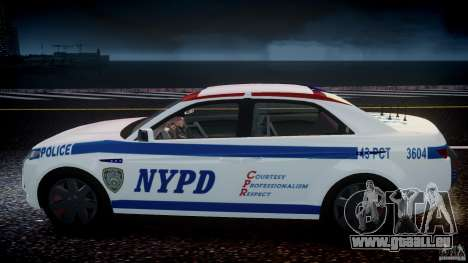 Carbon Motors E7 Concept Interceptor NYPD [ELS] pour GTA 4