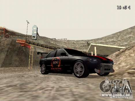 Toyota Altezza NKS Drift pour GTA San Andreas vue arrière