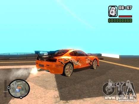 NISSAN Silvia S15 RFteam drifters pour GTA San Andreas laissé vue