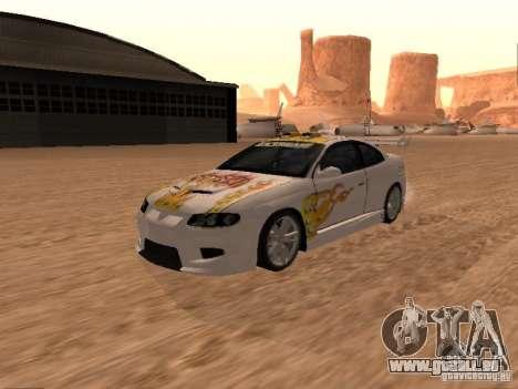 Vauxhall Monaro pour GTA San Andreas salon