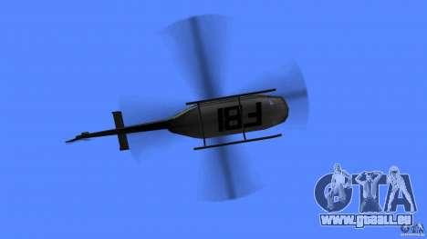 FBI Maverick für GTA Vice City rechten Ansicht