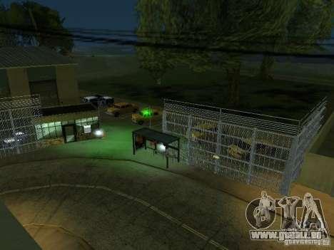 Das erste Taxi Park Version 1.0 für GTA San Andreas sechsten Screenshot