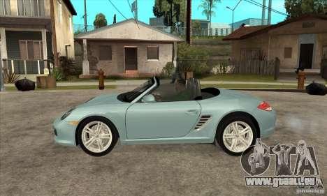 Porsche Boxster S 2010 für GTA San Andreas linke Ansicht