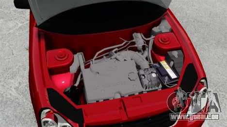 VAZ-2172 Priora-Suite für GTA 4 Innenansicht