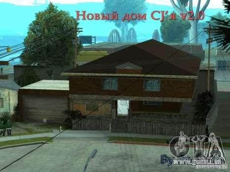 Neue Startseite CJâ für GTA San Andreas