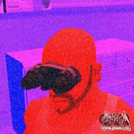 Goggles HD pour GTA San Andreas deuxième écran