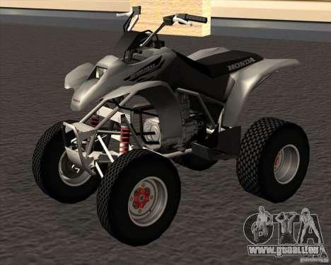 Honda Sportrax 250EX pour GTA San Andreas