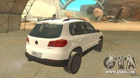 Volkswagen Tiguan 2012 v2.0 pour GTA San Andreas vue de droite