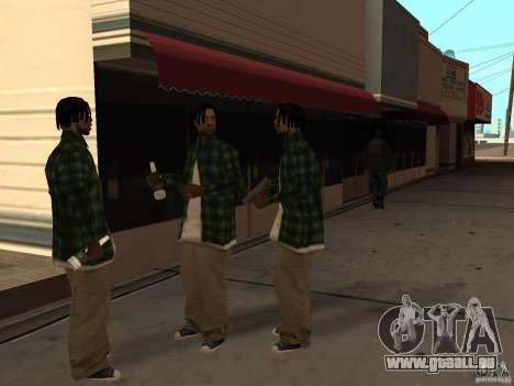 Pak inländischen Waffen Version 3 für GTA San Andreas achten Screenshot
