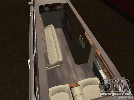 Rolls-Royce Phantom Limousine 2003 für GTA San Andreas zurück linke Ansicht