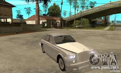 Rolls Royce Coupe 2009 pour GTA San Andreas vue arrière