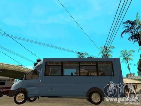 Ruta de la Gazelle pour GTA San Andreas laissé vue