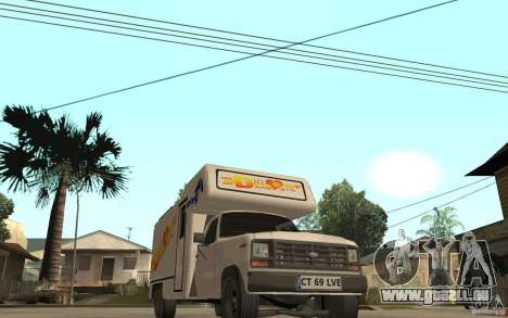 Ford F150 Carvana Dragostei für GTA San Andreas Rückansicht