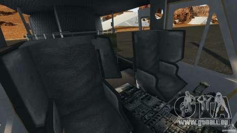 Bell UH-1 Iroquois pour GTA 4 est une vue de l'intérieur