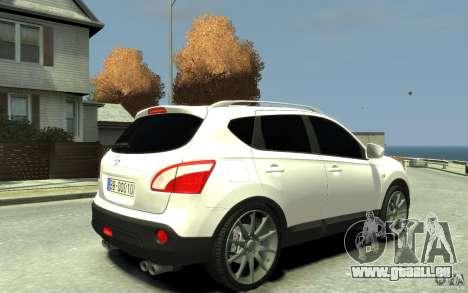 Nissan Qashqai 2010 für GTA 4 rechte Ansicht
