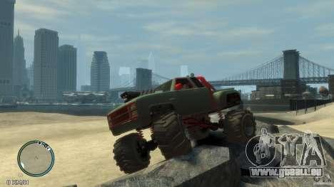 Bobcat megatruck 1.0 für GTA 4