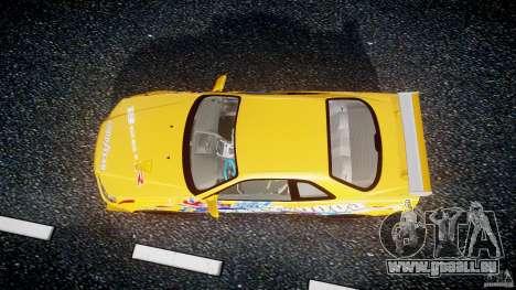 Nissan Skyline R34 GT-R Tezuka Goodyear D1 Drift für GTA 4 rechte Ansicht