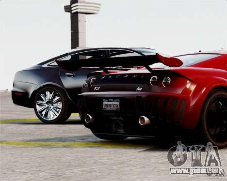 Ascari A10 2007 v2.0 pour GTA 4 vue de dessus