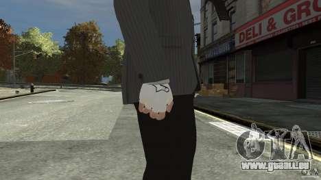 Gloves AlpineStar White pour GTA 4 secondes d'écran