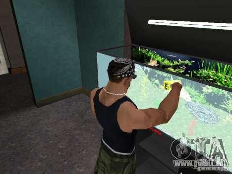 Aquarium für GTA San Andreas sechsten Screenshot