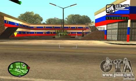 Hôtel russe pour GTA San Andreas troisième écran