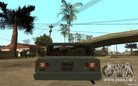 Ils la Invalide pour GTA San Andreas sur la vue arrière gauche