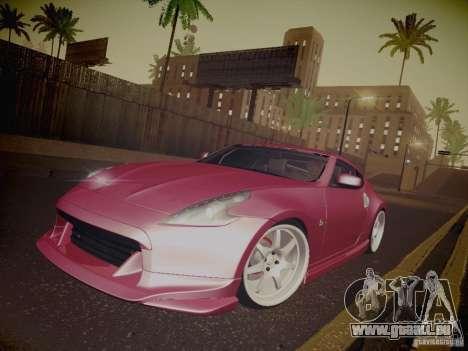 Nissan 370Z Fatlace pour GTA San Andreas roue