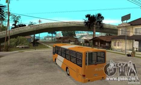CAIO Alpha Mercedes-Benz OH-142051 skin Zona C für GTA San Andreas zurück linke Ansicht