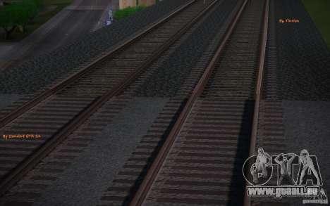 HD Schienen V 2.0 Final für GTA San Andreas zweiten Screenshot