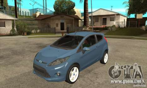 Ford Fiesta Zetec S 2009 für GTA San Andreas