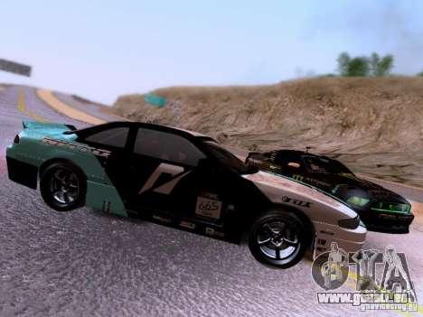 Nissan Silvia S14 Matt Powers v4 2012 pour GTA San Andreas vue intérieure
