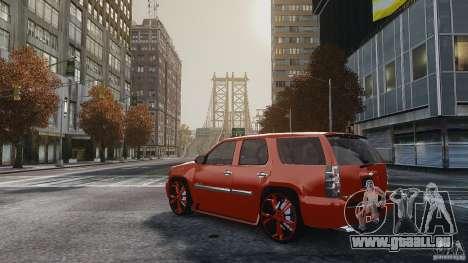 Chevrolet Tahoe tuning pour GTA 4 est une gauche